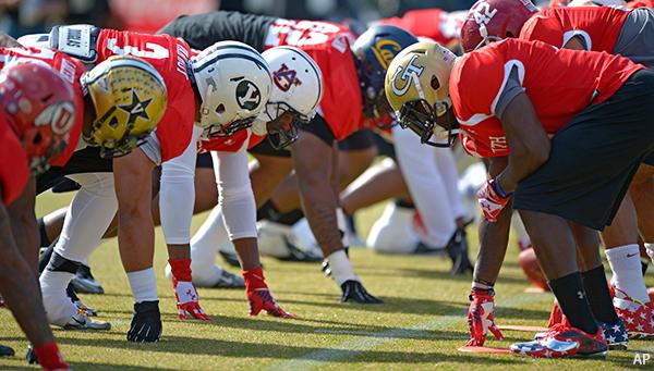 Senior Bowl South Practice