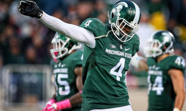 NCAA Football: Indiana at Michigan State